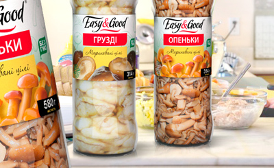 Private Label Easy&Good  (Hypermarket chain Caravan)