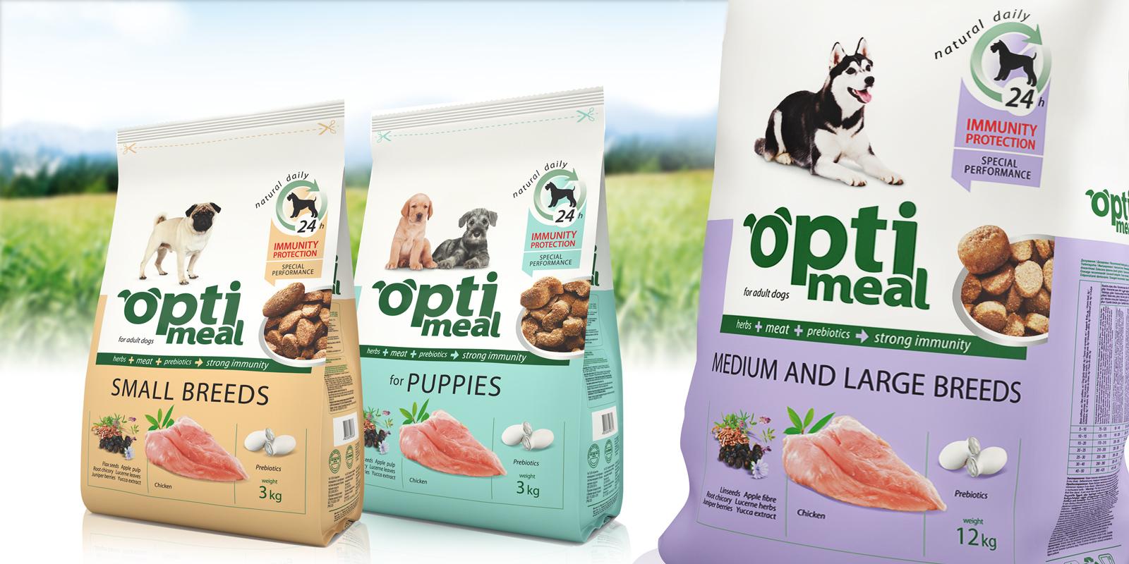 "ТМ Optimeal;;;;;;Разработка дизайна упаковок корма для собак ТМ Optimeal;;;;;;<span>Клиент:</span> Компания ""Кормотех"";;;;;;;;;;;;Разработка дизайна упаковок корма для собак ТМ Optimeal;;;;;;2"