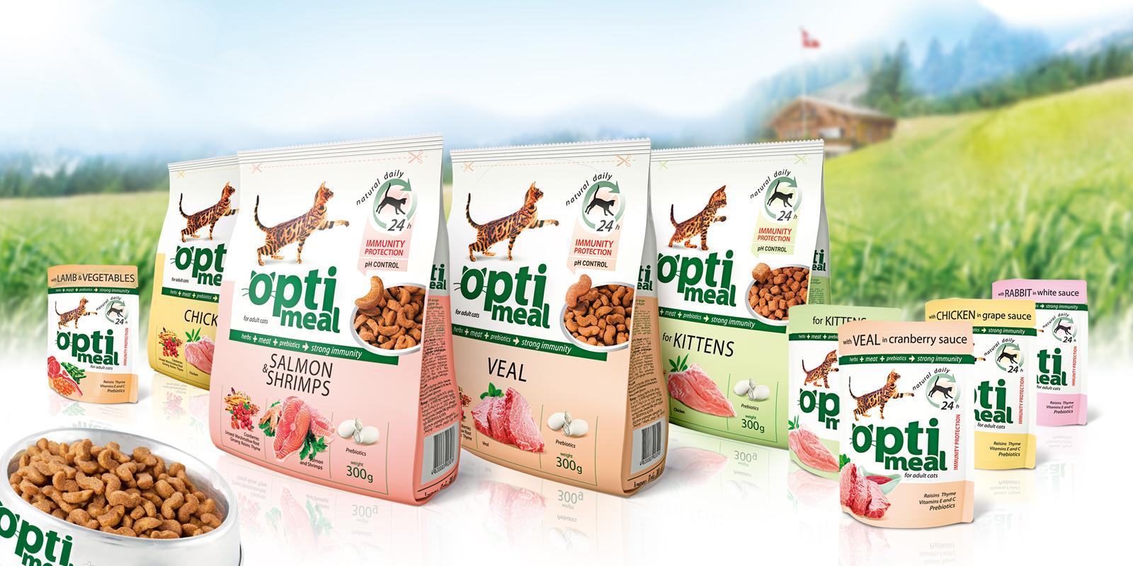 "ТМ Optimeal;;;;;;Разработка дизайна упаковок корма для котов ТМ Optimeal ;;;;;;<span>Клиент:</span> Компания ""Кормотех"";;;;;;;;;;;;Разработка дизайна упаковок корма для котов ТМ Optimeal ;;;;;;2"