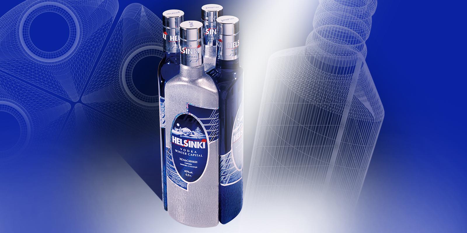 TM «Helsinki»;;;;;;Дизайн бутылки;;;;;;<span>Клиент:</span> Компания «Алеф Виналь»;;;;;;;;;;;;Дизайн бутылки;;;;;;7