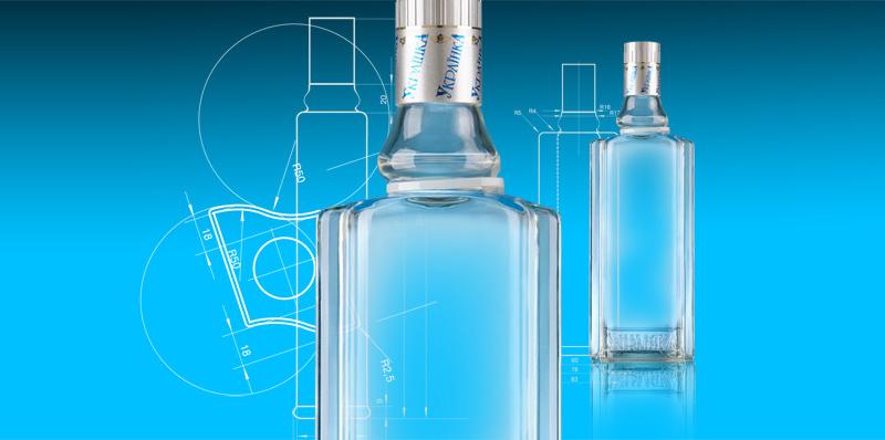 TM «Украинка»;;;;;;Дизайн бутылки;;;;;;<span>Клиент:</span> Компания «Алеф Виналь»;;;;;;;;;;;;Дизайн бутылки;;;;;;7